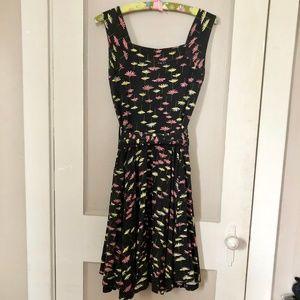 Effie's Heart Black Dandelion Dolce Vita Dress